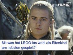...puh... keine Idee ;-)   #joke #lego #herrderringe #legolas