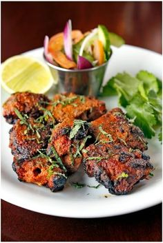 Dishoom has become synonymous with moreish Indian food designed to be eaten throughout the day. You'll find no tikka masala here! Try traditional lamb boti kababs for dinner tonight. This recipe was created by Dishoom's executive chef, Naved Nasir Easy Lamb Recipes, Chicken Recipes, Cooking Recipes, Healthy Recipes, Healthy Food, Kitchen Recipes, Cooking Ideas, Food Ideas, Turkish Recipes