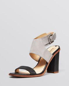 Via Spiga Open Toe Ankle Strap Sandals - Belia High Heel