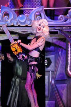 Sharon Needles as Frank N Furter Horror Picture Show, Rocky Horror Picture, Sharon Needles, Drag Queen Makeup, Gonna Love You, Love Your Hair, Club Kids, Rupaul, Girls Be Like