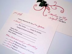 32 best L&A wedding images on Pinterest | Wedding rsvp, Wedding ...