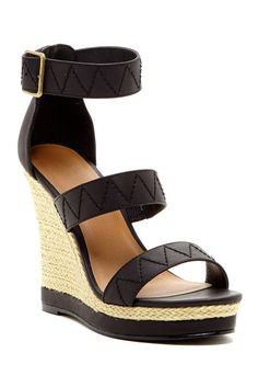 4fd1cada57 Garth Strappy Wedge Sandal Sneaker Heels, Shoes Heels Wedges, Wedge Sandals,  Shoes Sandals