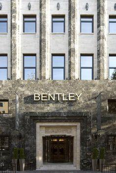 PORTFOLIO STUDIO SIMONTTI: Facade@Bentley Hotel, Genoa, architectural project of interiors (credits Saverio Lombardi Vallauri) #studiosimonetti #progettoalberghiero #bentleyhotelgenova #meliagenova #hotel5stellelusso