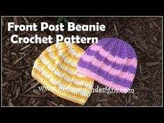Reflective Front Post Beanie Crochet Pattern By Sara Sach of Posh Pooch Designs We have just re-tested, re-edited, and updated This. Free Crochet, Knit Crochet, Crochet Hats, Crochet Stitches, Crochet Patterns, Cool Hats, Learn To Crochet, Dog Design, Crocheting