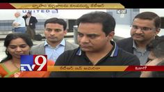 NRIs welcome KTR in Chicago- USA