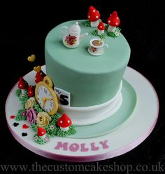 Alice in Wonderland Mad Hatter Cake | Flickr - Photo Sharing!
