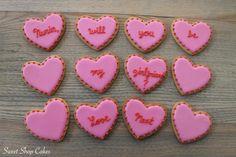 Romantic sugar cookies!