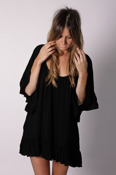 Love this tunic for a beach cover up