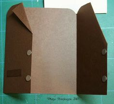 Jacket-card with tutorial