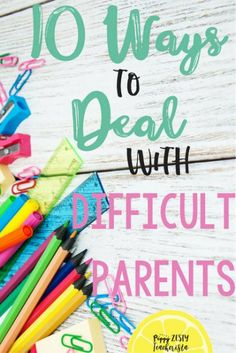 Are you a teacher that has ever had parent teacher communication problems? These 10 classroom management tips will help you manage those hard parent teacher relationships.