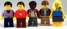 Big Bang Theory LEGO minifig