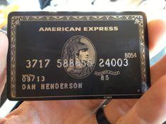 Carte American Express Centurion Lancée En 2004 La Mystérieuse Ane
