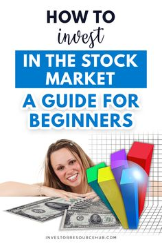 Want to make money quickly by investing in the stock market? Learn the best tips in our guide to investing in the stock market for beginners right here. Learn Stock Market, Stock Market Basics, Stock Market For Beginners, Stock Market Investing, Investing In Stocks, Forex Trading Tips, Learn Forex Trading, Value Investing, Investing Money