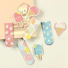 Ice Cream Magnetic Bookmark