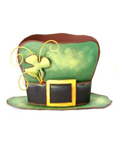 Take a look at this Leprechaun Hat Centerpiece by The Round Top Collection on #zulily today!