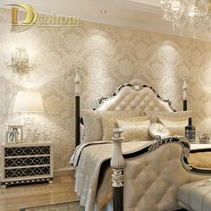 Find More Wallpapers Information about European Simple Luxury Beige Deep Blue Damask Wallpaper For Wall 3 D Classic Embossed TV Room Bedroom Wall paper Home Decor,High Quality wallpaper modern,China wallpaper bathroom Suppliers, Cheap damask stripe from Wallpaper Wholesale on Aliexpress.com