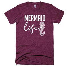 Mermaid Life Short sleeve soft t-shirt