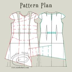 Plan your pattern making with a reliable dress block.