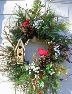 Beautiful Christmas Wreaths for Front Door. The main Christmas decorations that each of us never forgets to put during the holidays is the Christmas tree