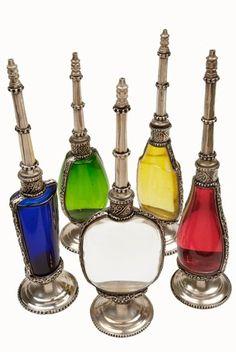 Perfume Bottles gorgeous colors