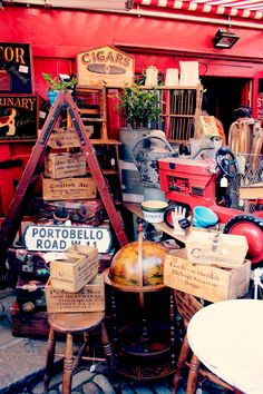 Portobello Road Market / London Market