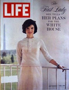 Jacqueline Onassis - Life Magazine [United States] (1 September 1961)