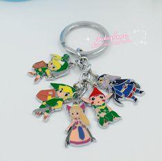 Legend of Zelda LINK Metal KEYCHAIN FREE SHIPPING