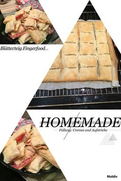 Homemade Fingerfood <3 im Blätterteig