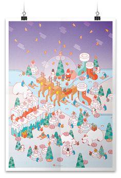 https://www.behance.net/gallery/22292479/-Happy-Holidays-