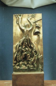 War, 60x25x20, bronze, 1970-1990