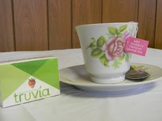 Stash Tea and Truvia sweetener
