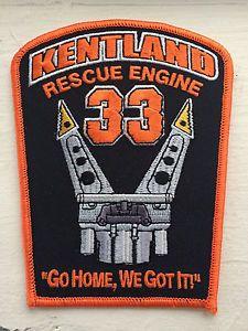 Kentland-Fire-Department-Rescue-Engine-33-Patch