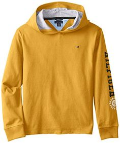 Tommy Hilfiger Big Boys' Long Sleeve Maddox Hoodie, Old Gold, Medium Tommy Hilfiger http://smile.amazon.com/dp/B00K74L0SU/ref=cm_sw_r_pi_dp_wCSHvb1R8HF70