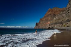 A long hike or a boat ride: Gran Canaria's most famous remote beach at GuiGui is never the same twice but always worth the trip.