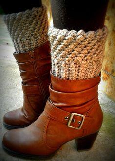 Crochet Boot Cuffs Pattern Boot Cuffs by AlynaCrochetPatterns