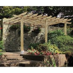 pergola ***Repinned by Normoe, the Backyard Guy (#1 backyardguy on Earth) http://twitter.com/backyardguy