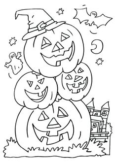 October Coloring Pages Coloring Pages Pinterest