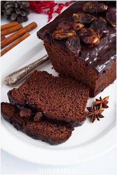 Piernik z powidłami - I Love Bake Catering Food, Breakfast, Recipes, Bakken, Morning Coffee, Ripped Recipes, Cooking Recipes