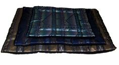 Large Dog Bed made in the USA! Easy to clean. Many southwestern designs available.