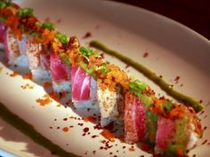Super 5 Star Roll with Shut Up Sauce Recipe : Food Network - FoodNetwork.com