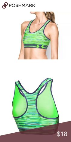 Under Armour Women's Sports Bra Mid Impact Support Under Armour Women's Sports Bra Mid Impact Support Size XL  I try my very best to capture the correct color/shade.  The actual shade may vary in person.  Racerback Mid-impact support Size XL 90% Polyester, 10% Elastane   Thank you so much! Under Armour Intimates & Sleepwear Bras