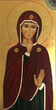 Jesus Christ Images, Jesus Faith, Virgin Mary Art, Hail Holy Queen, Religious Pictures, Queer Art, Blessed Mother Mary, Byzantine Icons, Ikon