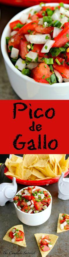Pico de Gallo ~ The Complete Savorist