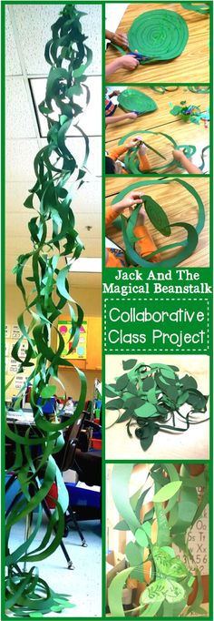 Jack And The Beanstalk Collaborative Class Project Image