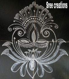 65 Ideas House Sketch Design Beautiful For 2019 Indian Rangoli Designs, Rangoli Designs Latest, Rangoli Designs Flower, Rangoli Border Designs, Rangoli Designs With Dots, Rangoli Designs Images, Beautiful Rangoli Designs, Rangoli Borders, Rangoli Patterns