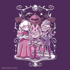 TeaM Battle By Kevin Fagaragan, today at The Yetee!