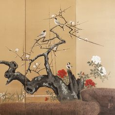 Biombo japonés años 50 / JAPÓN / Casa Josephine Shop -tienda online
