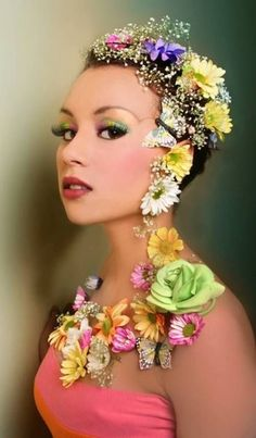 Mother Nature Costume Makeup                                                                                                                                                     More