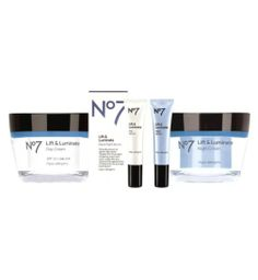 Lift and Luminate Regime Bundle- Online Exclusive - Boots Beauty Tips, Beauty Hacks, Make Up, Cream, Day, Boots, Creme Caramel, Crotch Boots, Beauty Tricks