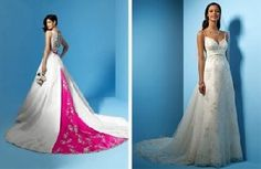 pastel colored wedding dresses Archives | The Wedding Specialists